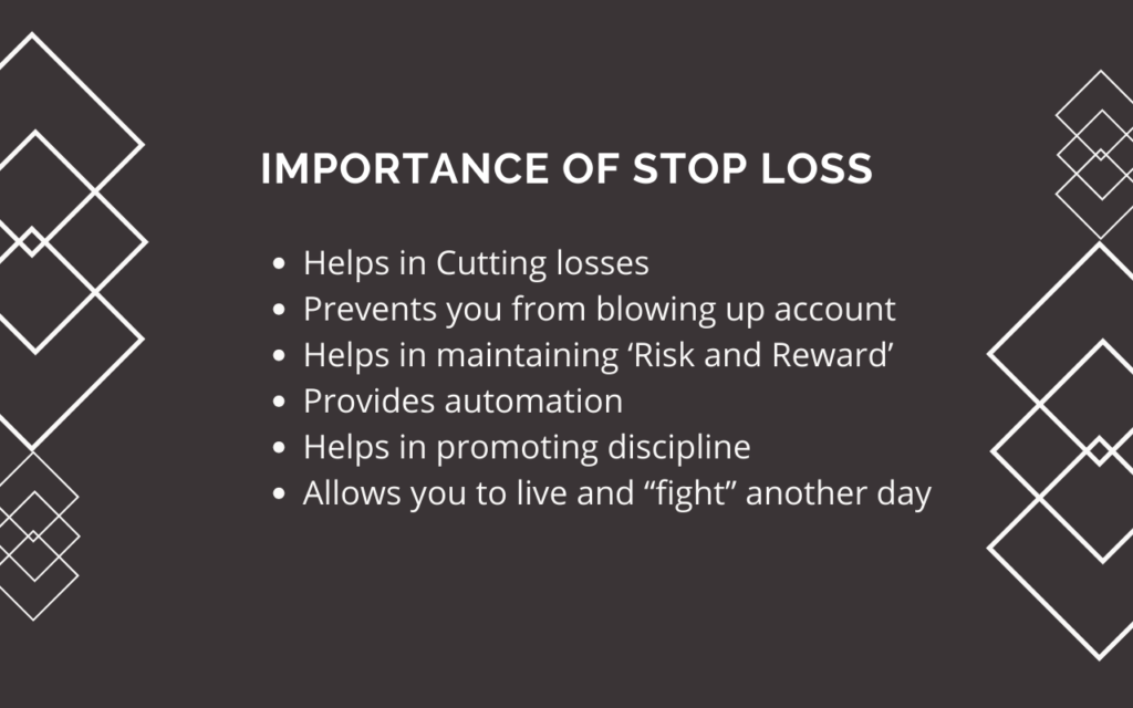 importance of stop loss